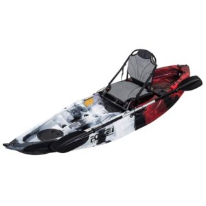 kayak Fishing kano Καγιάκ FORCE ANDARA SOT FULL Κόκκινο