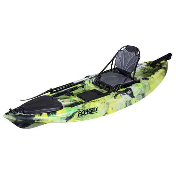 kayak Fishing kano FORCE MARLIN SOT FULL Πράσινο Παραλλαγής