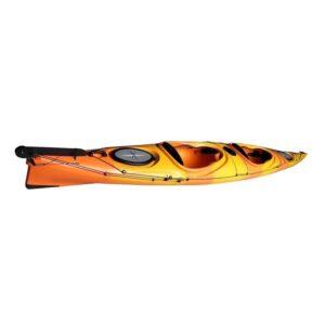 kayak Sit In kano Καγιάκ GOBO Weekender Κίτρινο-Πορτοκαλί